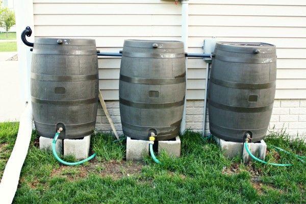 Rainwater harvesting for group houses