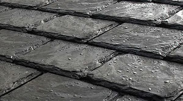 Recycled Rubber Roof Shingle