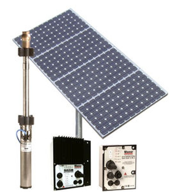 Sun-Sub Submersible Solar Panel Pump