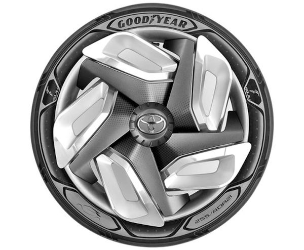 kinetic Energy generating tire concept by Goodyear