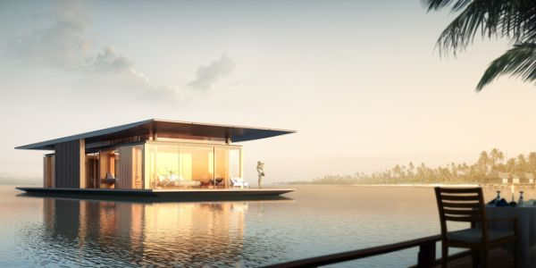Floating House by Dymitr Malcew