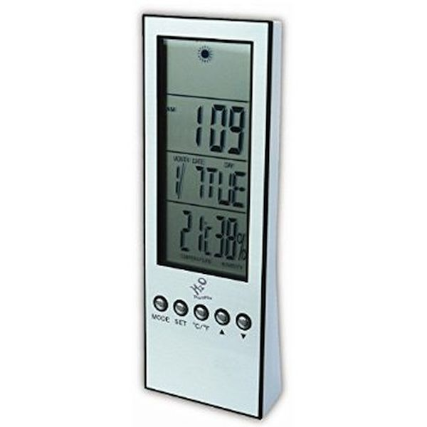 H2O Power Weatherstation Weather Forecast Clock