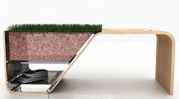 VoltPot Table Planter
