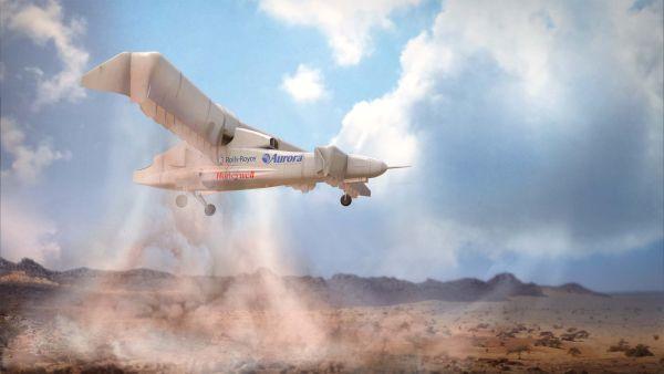 DARPA's VTOL Experimental Plane