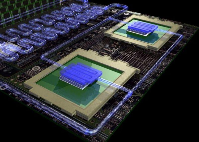 power 575 eco-friendly supercomputer
