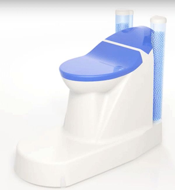 "Cranfield Water Science Institute's ""Nano-membrane toilet"""