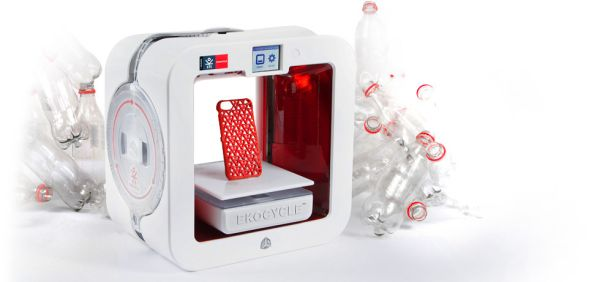 The EkocycleTM Cube 3D Printer