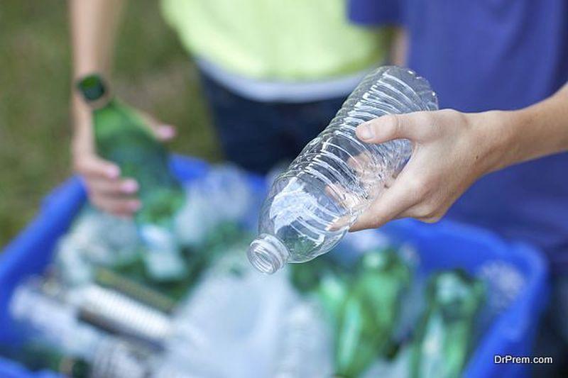 Plastic Bottles fabric