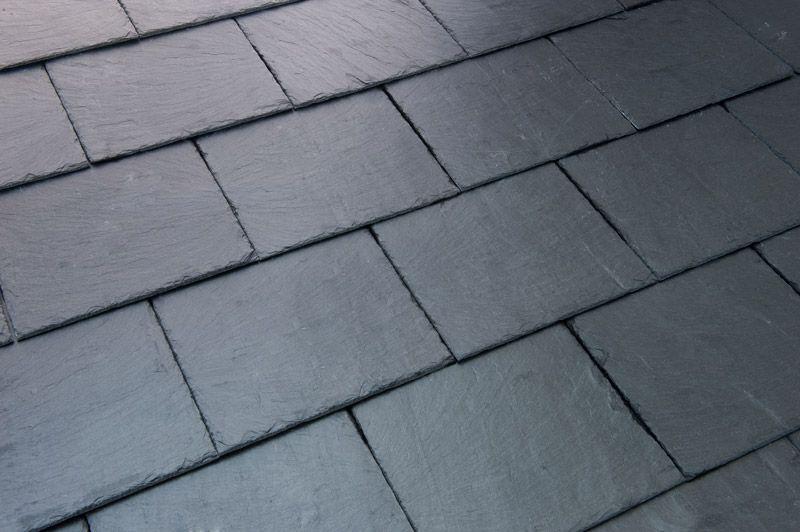 Slate tiles' roof