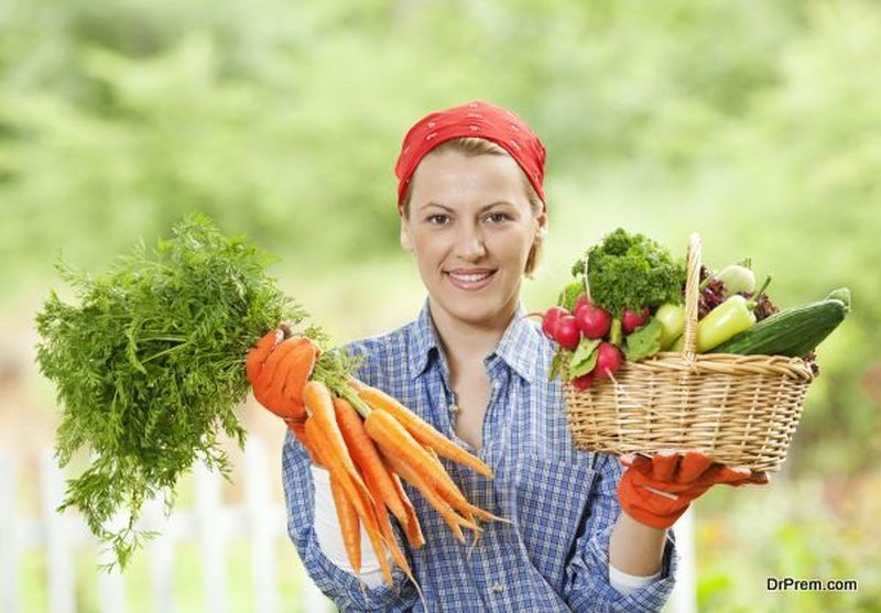 Eat organic and locally grown foods