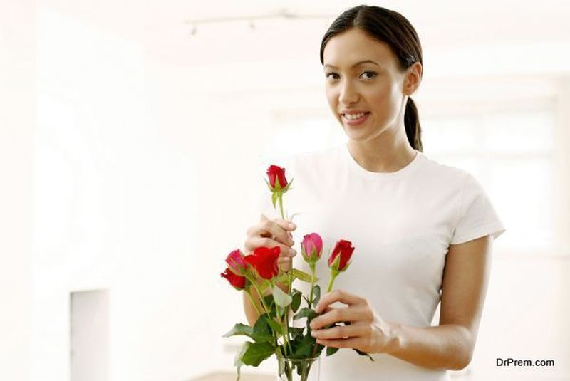 decorate your house with fresh flowers