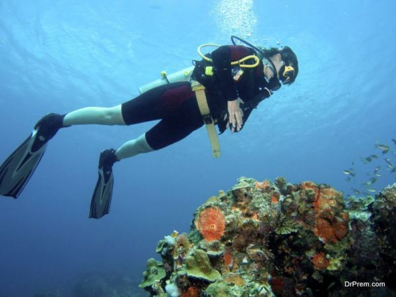 diving sites in the Caribbean