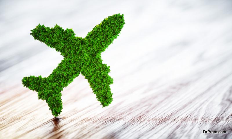 Climate-friendly air travel