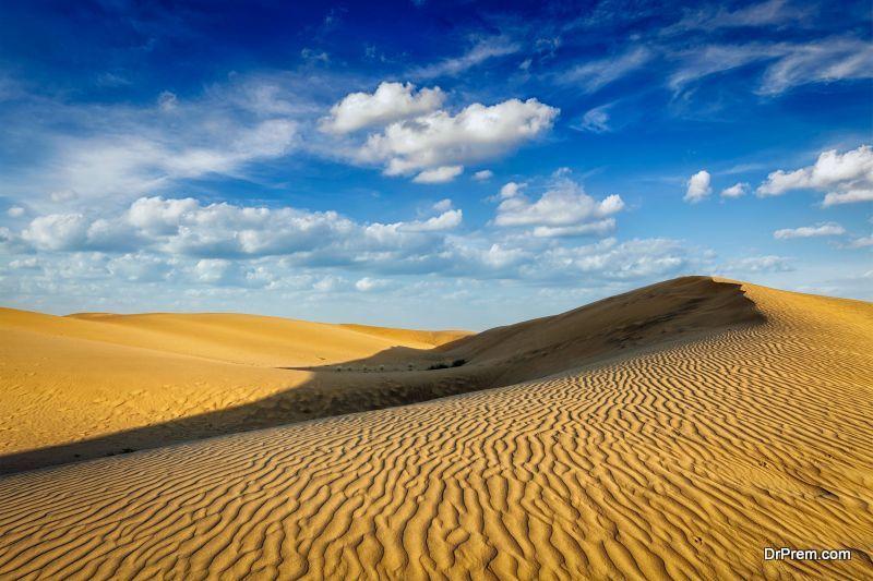 Desert states like Rajasthan