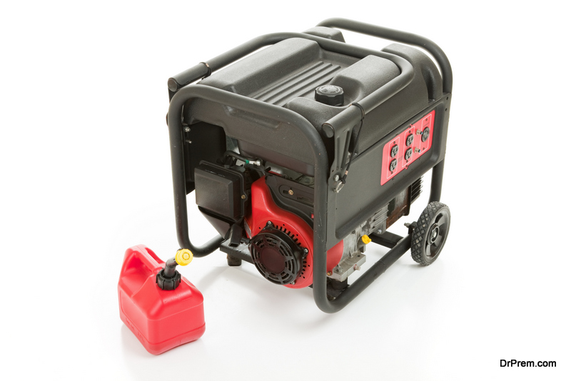 portable generator for home backup power