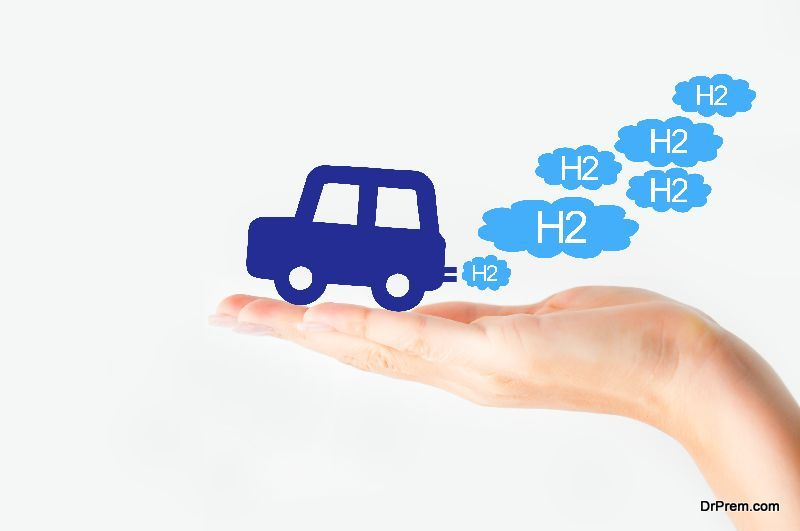 Hydrogen can be used to fuel vehicles