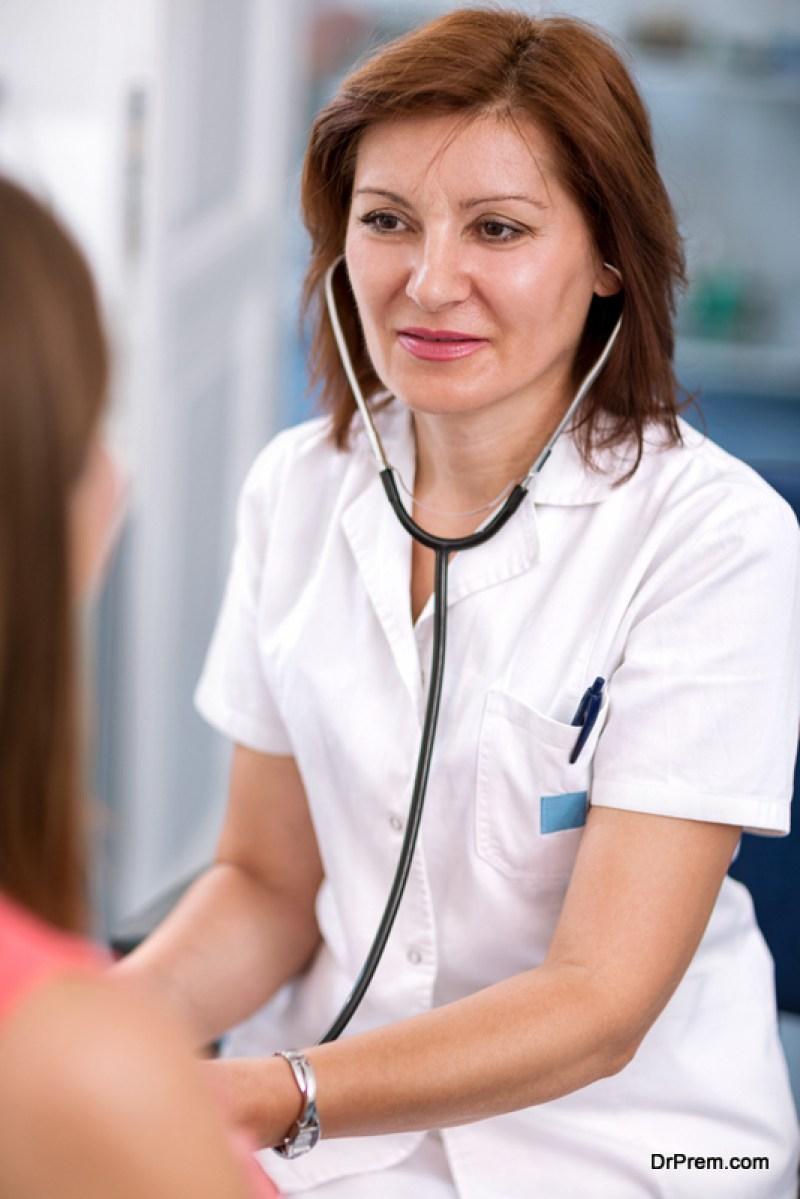 Go for regular check-ups