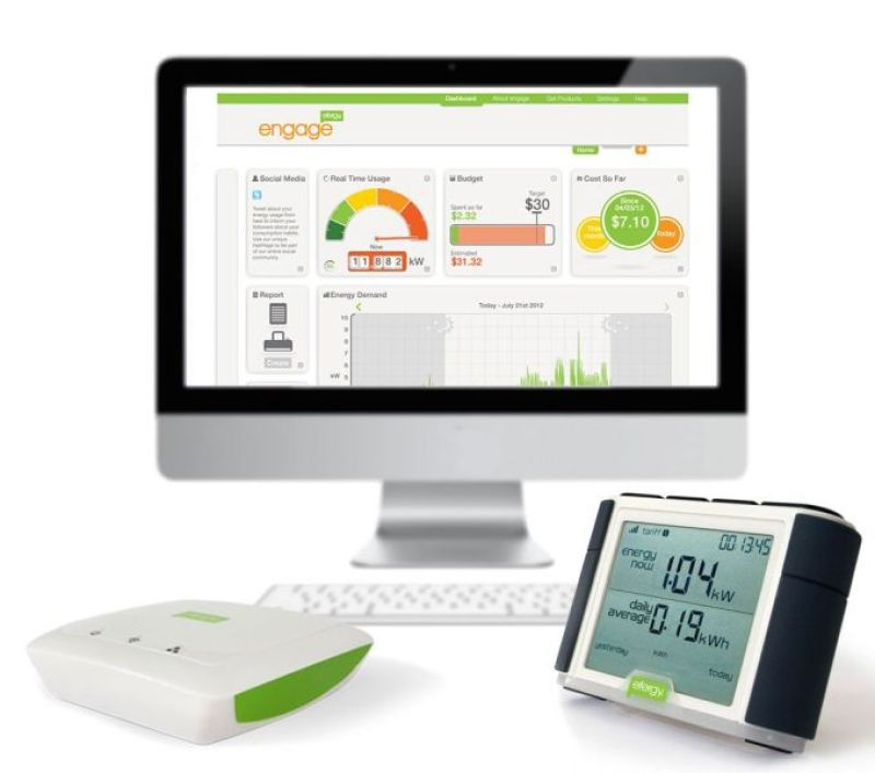 Efergy Engage Hub monitors