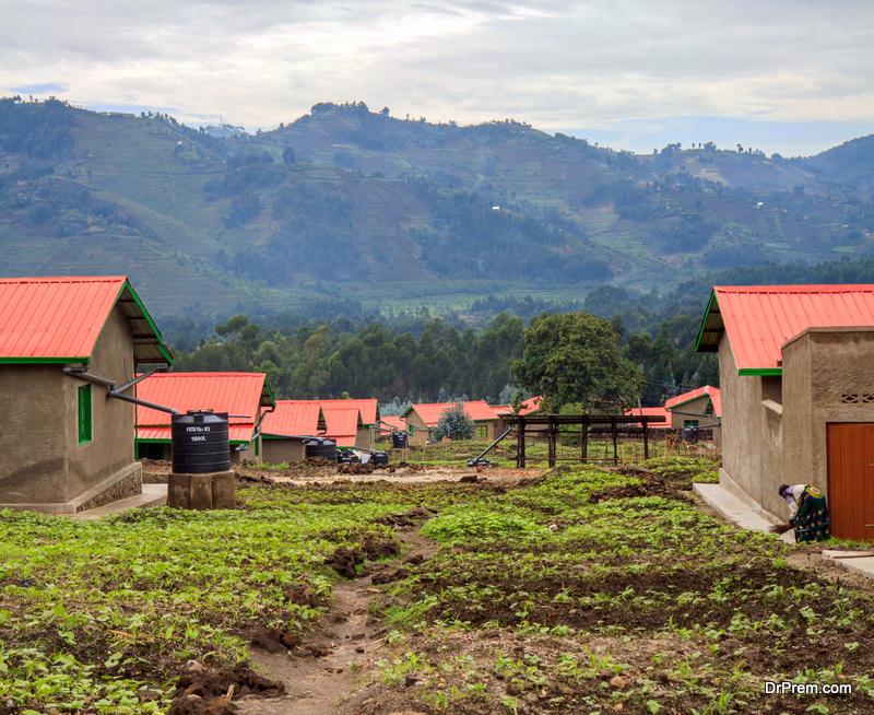 Eco village development plan