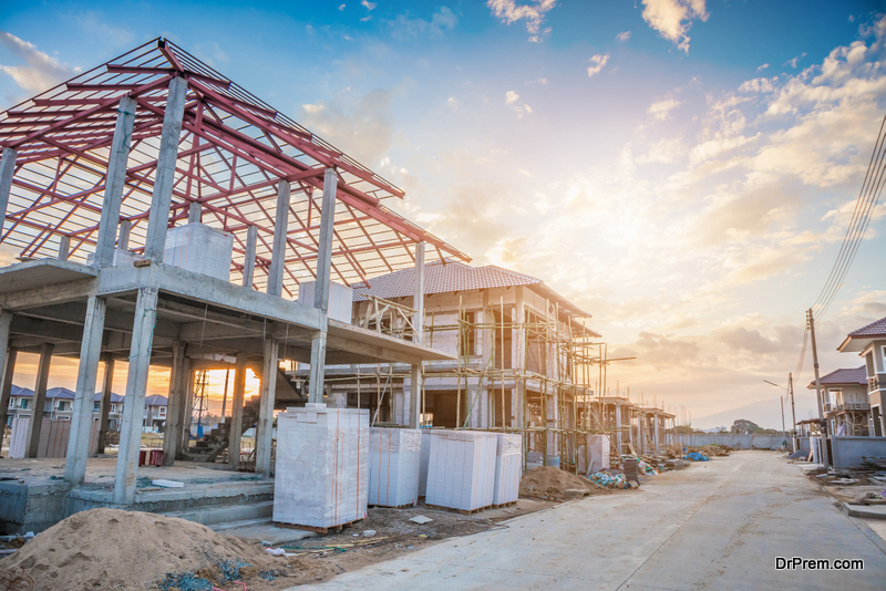 Construction activities change the lay of the land