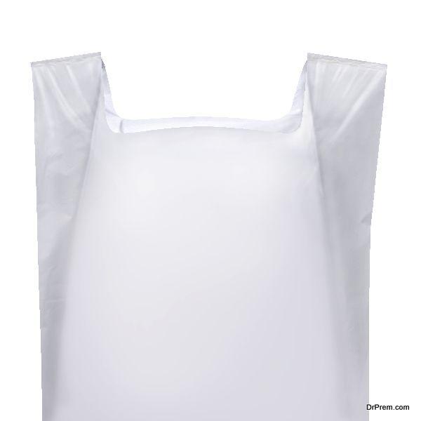 use plastic bag as gloove