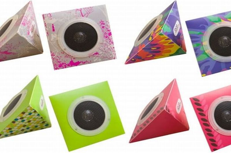 Eco-speakers-made-from-recycled-materials