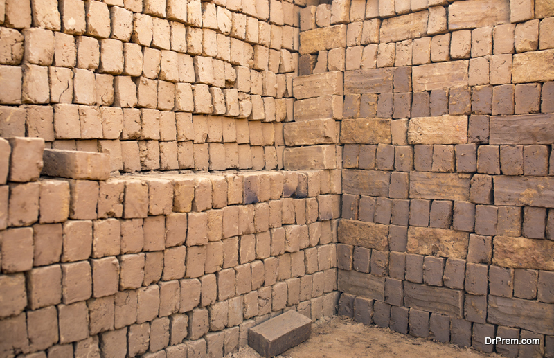 Adobe is known as the oldest form of building material available on earth