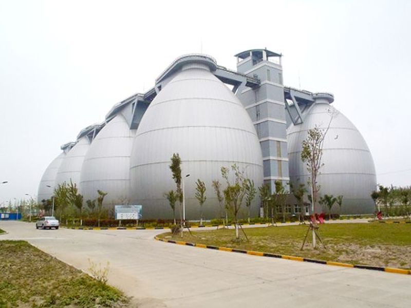 Bailonggang Wastewater Treatment Plant
