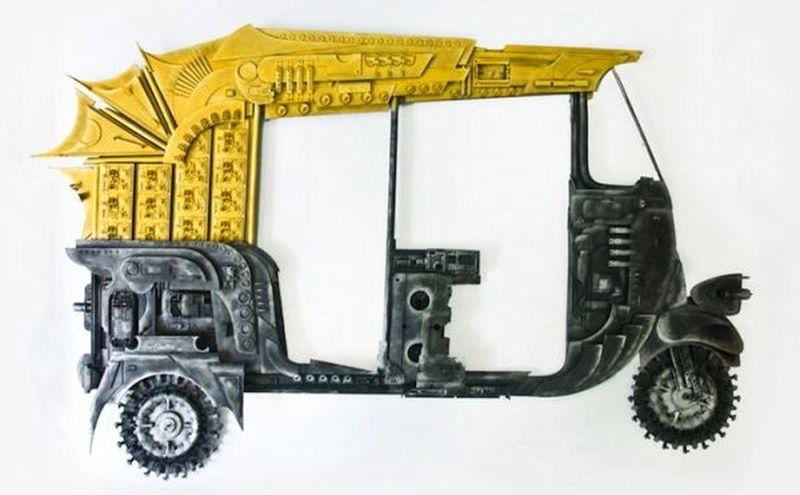 Haribaabu Naatesam e-waste art