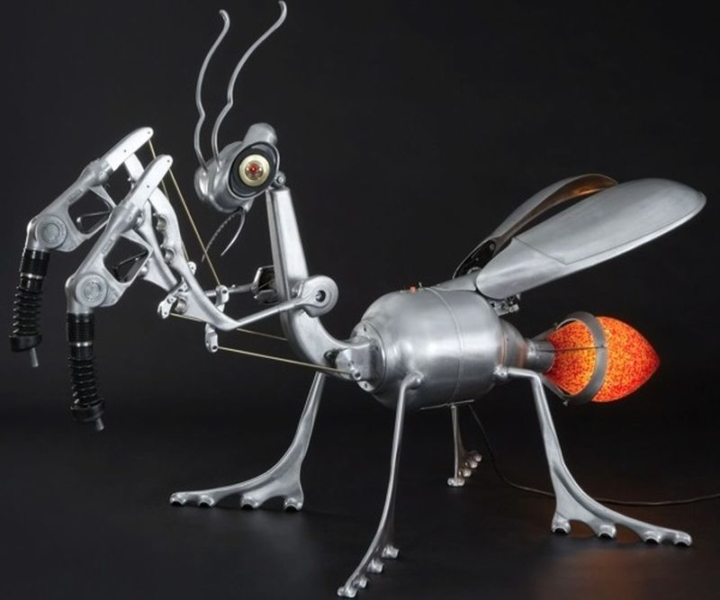 Most amazing kinetic sculptures made using recycled materials