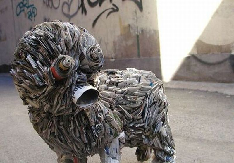 stunning animal sculptures