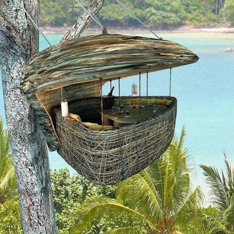 Bamboo Tree Hut