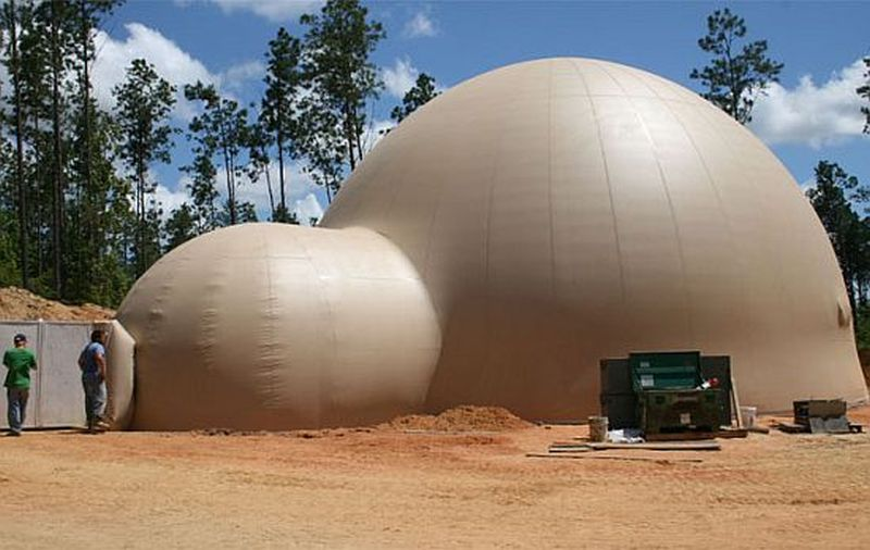 Inflatable Dome Home in Louisiana