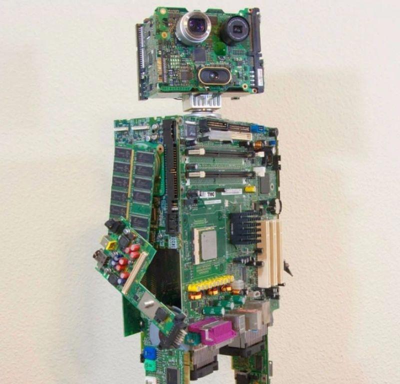 Mike Schropp Computer parts robot
