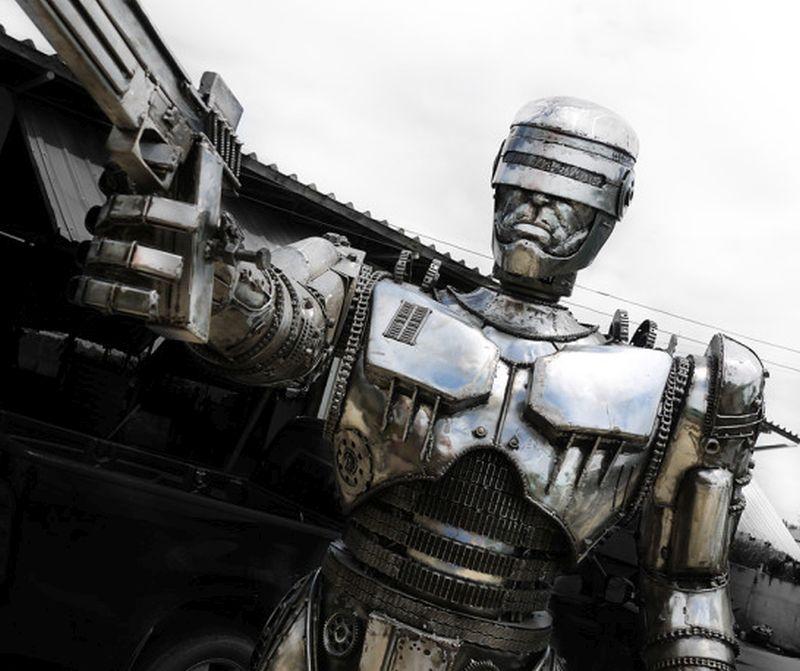 Steampunk Robocop by Kreatworks