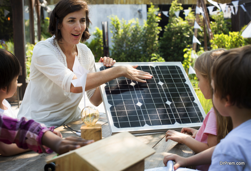 make your school environmentally friendly