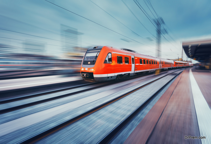 train companies are working to become a more sustainable service