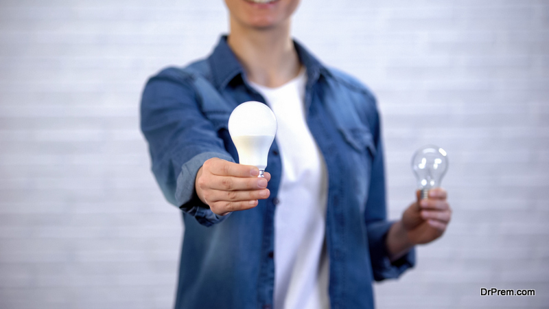 Switch to LED Light Bulbs