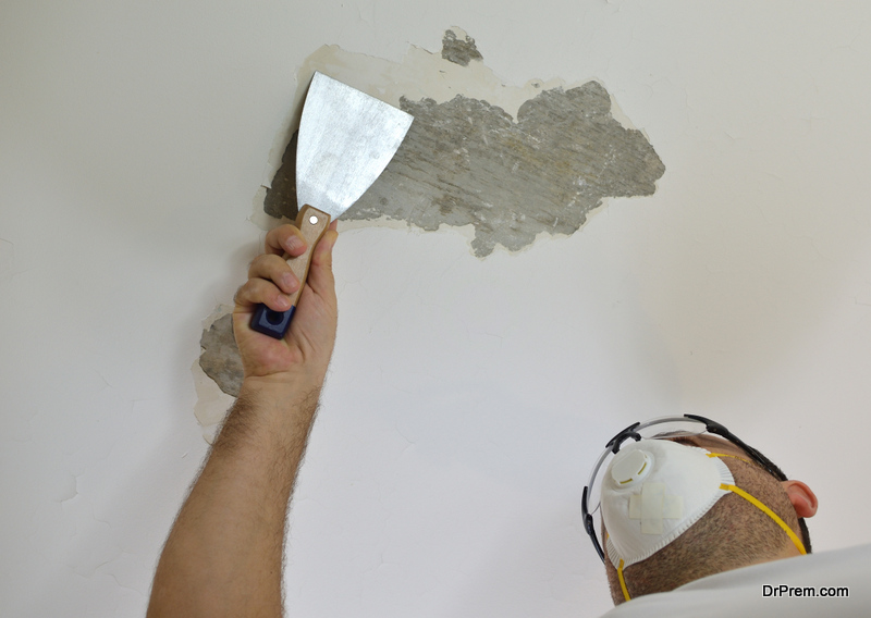 removing lead based paint