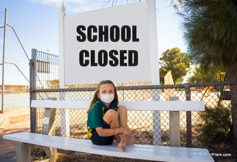 schools have been closed all over the world