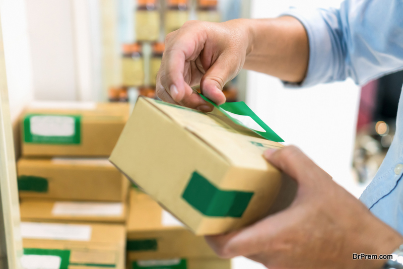 Packaging is the next major aspect of online shopping