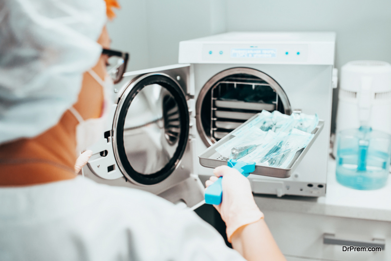 Autoclaving - Sterilization of medical instruments