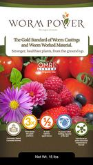 Worm Power Organic Worm Castings for Turf and Agriculture