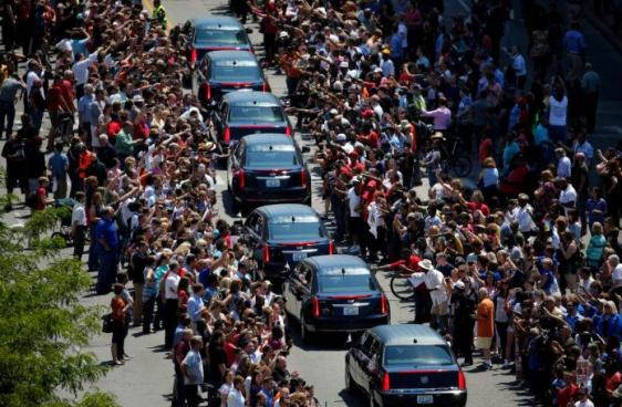 Muhammad Ali funeral cortege