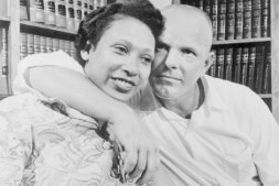 The Supreme Court ruled unanimously that a Virginia law banning marriage between African Americans and Caucasians was unconstitutional, thus nullifying similar statues in 15 other states. The decision came in a case involving Richard Perry Loving, a white construction worker and his African American wife, Mildred. The couple married in the District of Columbia in 1958 and were arrested upon their return to their native Caroline County, Virginia. They were given one year suspended sentences on condition that they stay out of the state for 25 years. The Lovings decided in 1963 to return home and fight banishment, with the help of the American Civil Liberties Union.