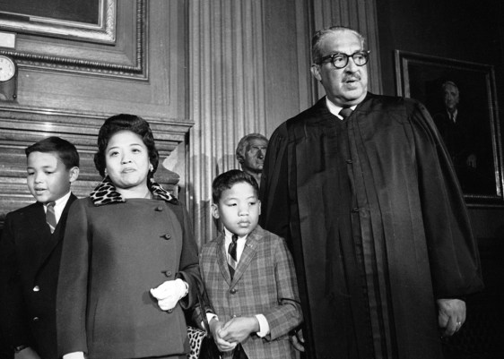 Thurgood Marshall with family.jpg