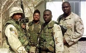 Black troops