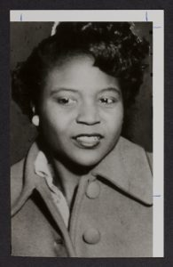 Autherine Lucy 1956 student photo