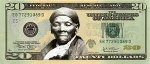 Harriet Tubman on $20 bill