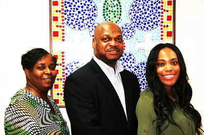 Group Photo Carolyn, Dex and Kim